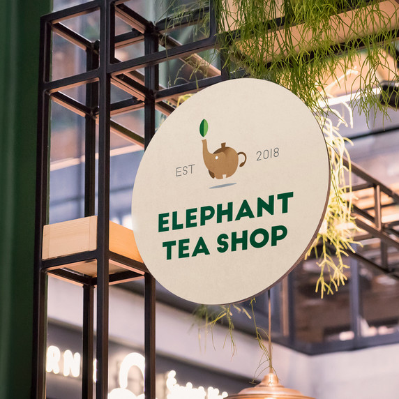 Elephant Tea Shop 1